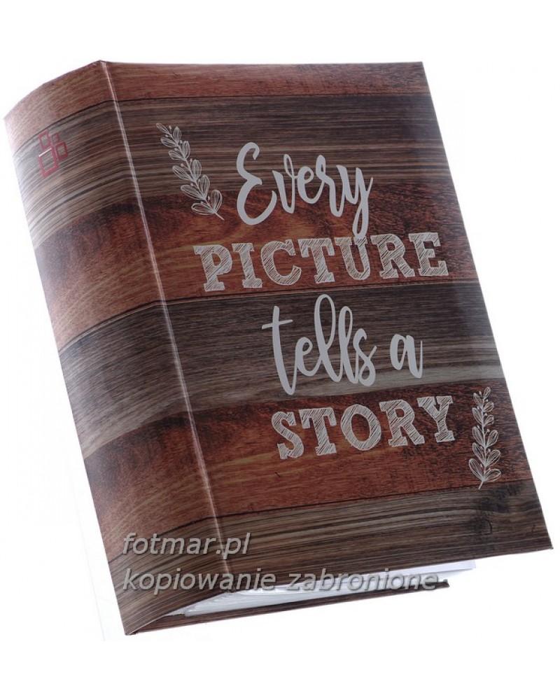 szyty album na 200 zdjęć z opisem formatu 10x15 STICK 1