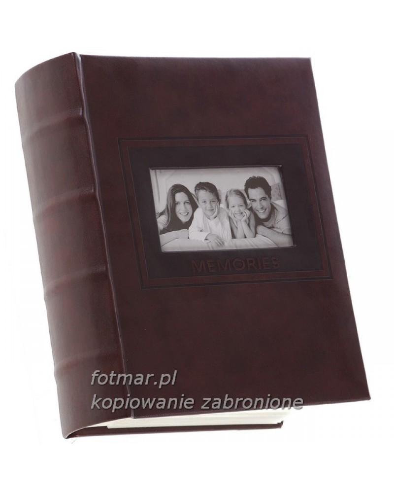 ALBUM NA ZDJĘCIA 10X15 300 ZDJĘĆ SZYTE CDS BR.ĄZ