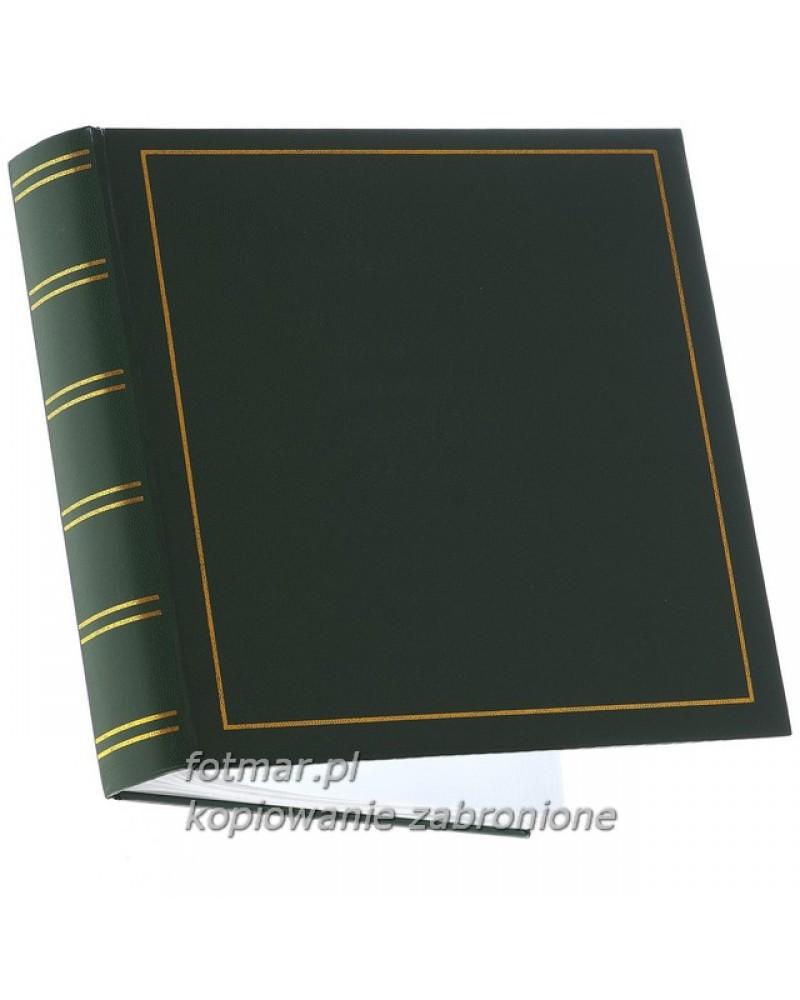 Klasyczyny bordo ze złotą ramką szyty album na 300 zjęć z opisem formatu 10x15