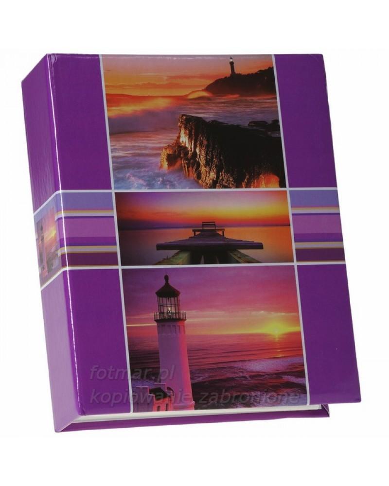 Ładny album na 300 zdjęć wsuwanych 10x15  ASSORT FIOLETOWY