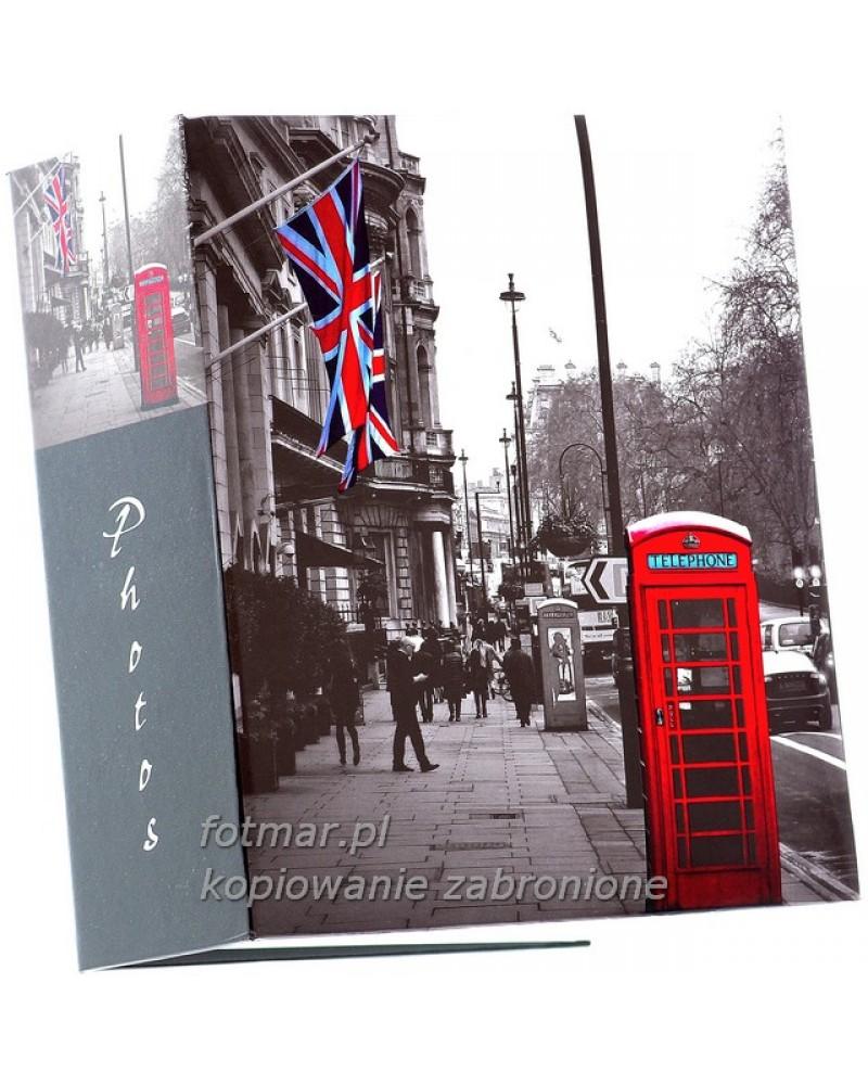 Album kieszeniowy na 300 zdjęć 10x15 Londyn czerwona budka2