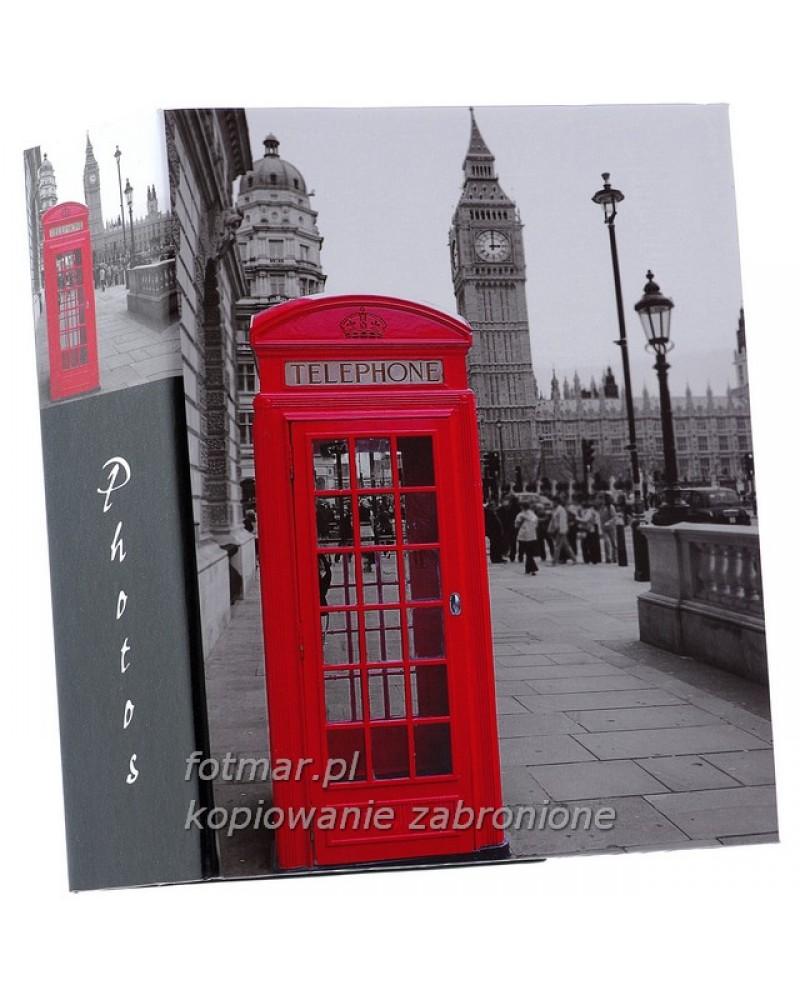 Album kieszeniowy na 300 zdjęć 10x15 Londyn CZERWONA BUDKA 3