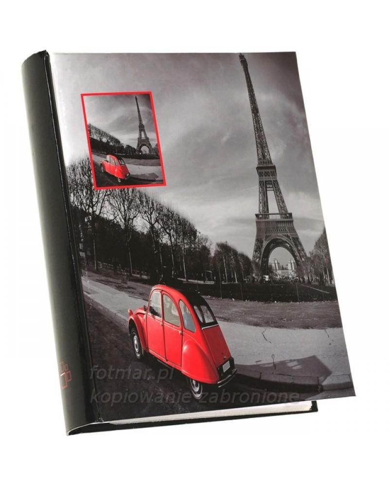szyty album na 200 zdjęć z opisem formatu 10x15 RED PARYŻ
