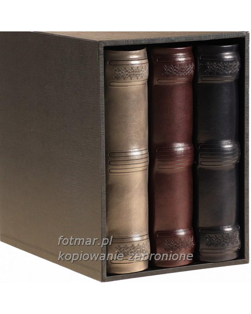 Piękny zestaw trzech albumów na 200 zdjęć w pudełku zestaw na 600 zdjęć 10x15 set4