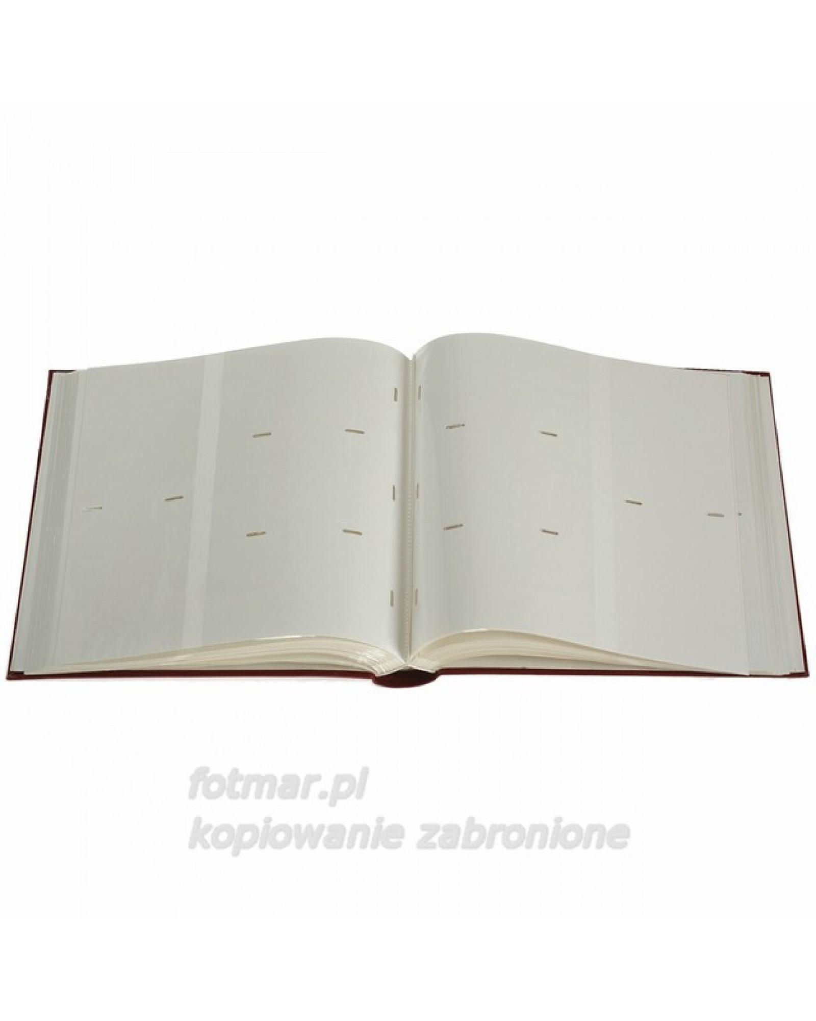 ALBUM NA 600 ZDJĘĆ 10X15 SZYTY CZERWONY KWIAT