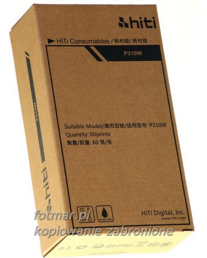 Hi-Ti papier+folia na 50 zdjęć do drukarki  P310 W
