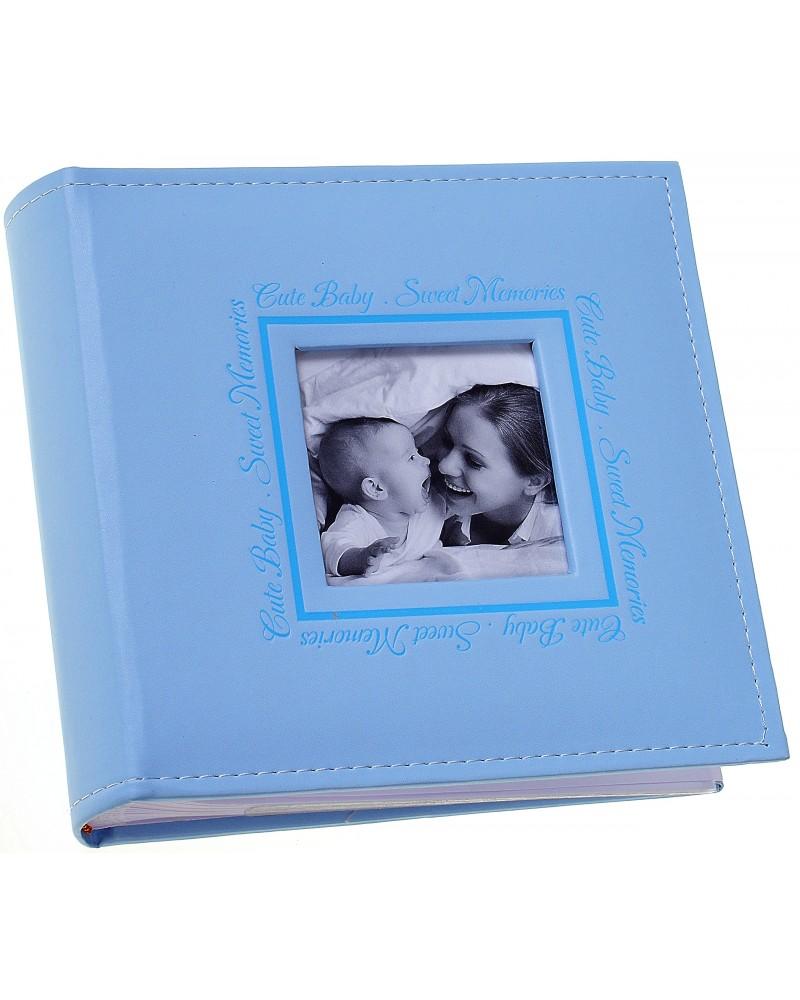 NIEBIESKI album na zdjęcia dziecięce 10x15 na 200 zdjęć PERFECT LINE