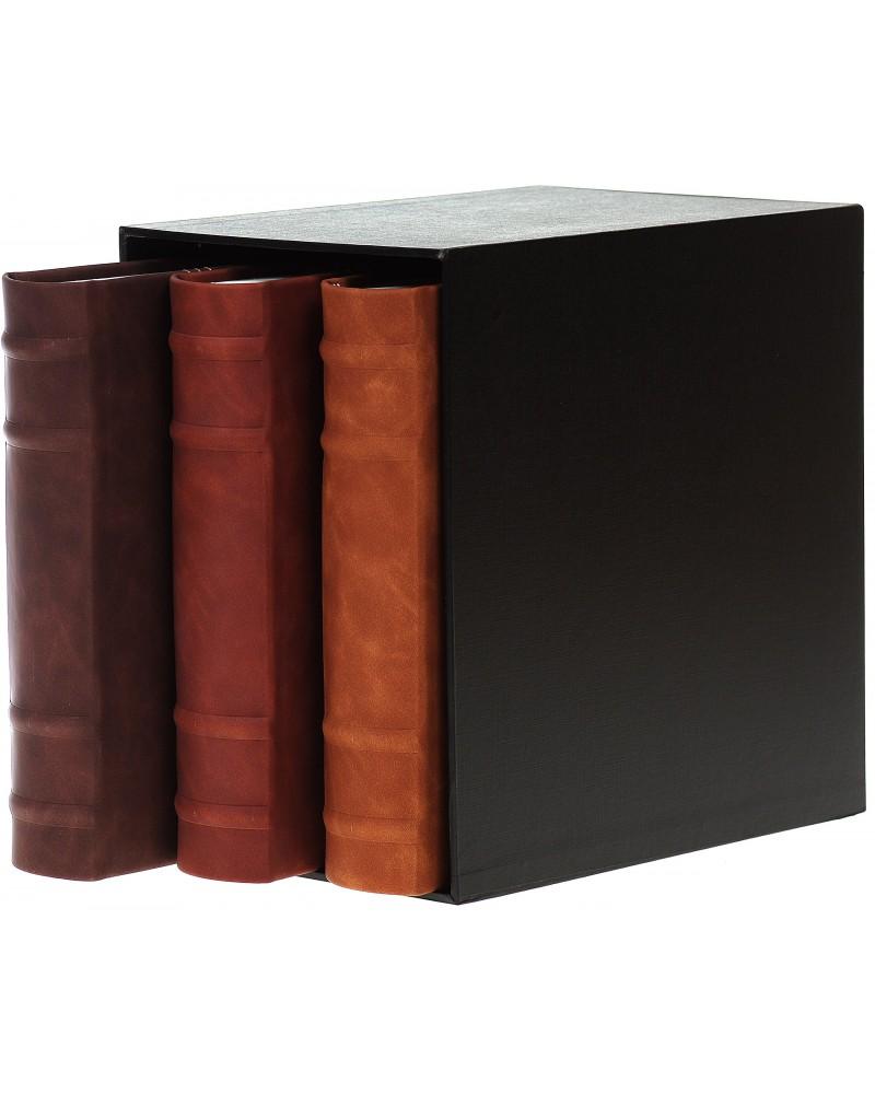 Piękny zestaw trzech albumów na 200 zdjęć w pudełku zestaw na 600 zdjęć 10x15 set83