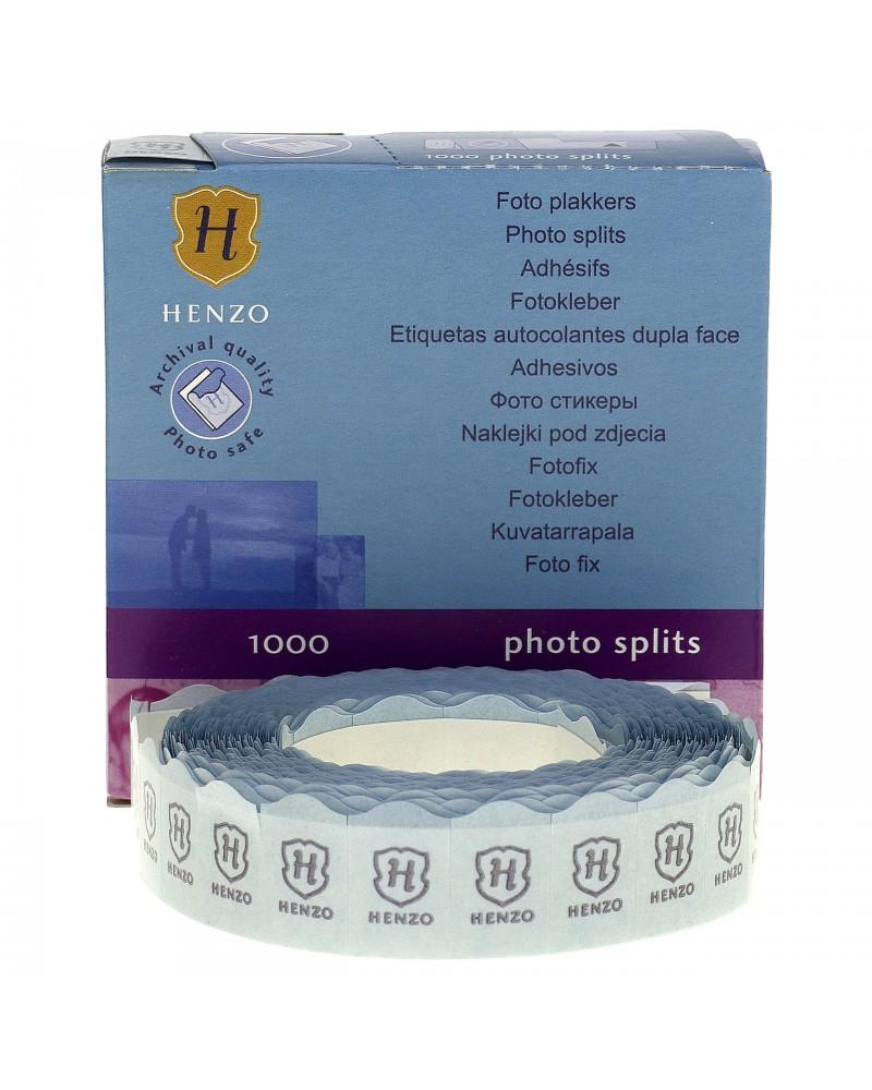 Przylepce Henzo do wklejania zdjęć w albumach 1000 szt