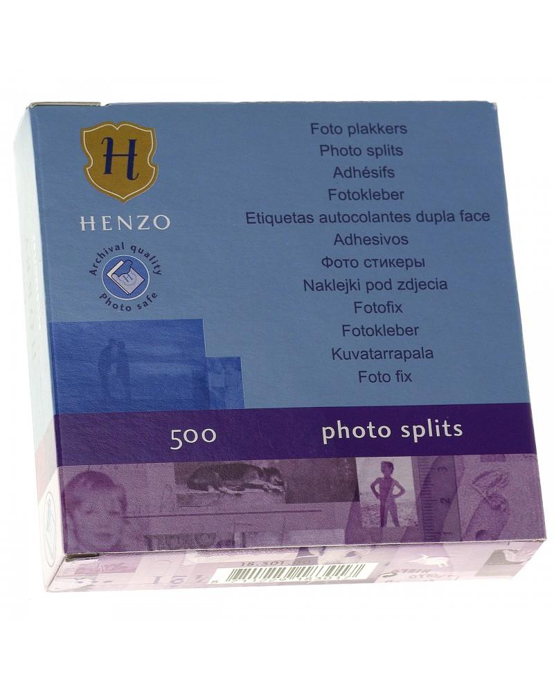 Przylepce Henzo do wklejania zdjęć w albumach 500 szt