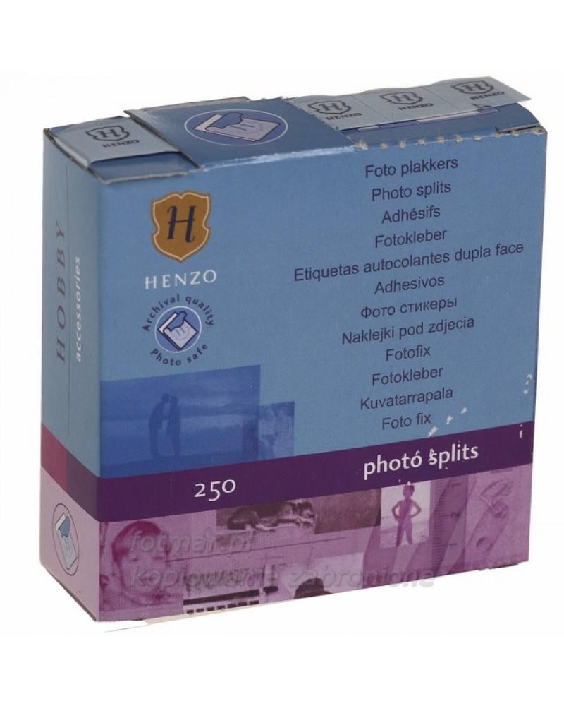 Przylepce Henzo do wklejania zdjęć w albumach 250 szt
