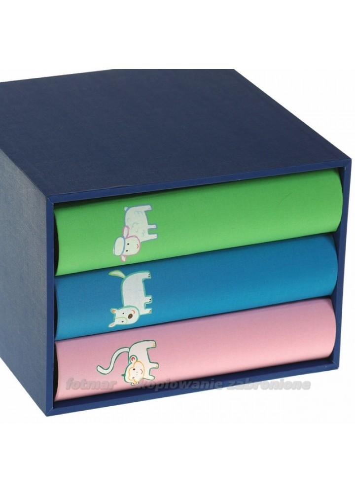 Piękny zestaw trzech albumów dziecięcychy na 200 zdjęć w pudełku zestaw na 600 zdjęć 10x15