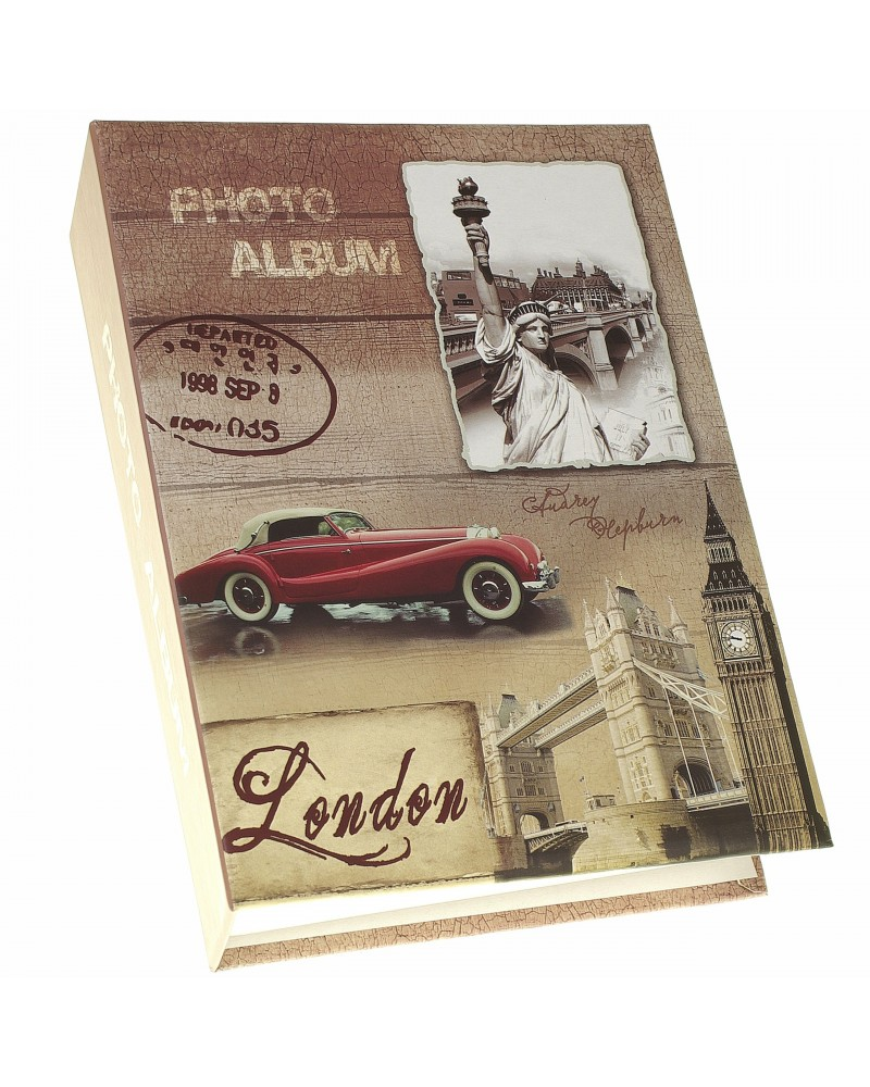 Album kieszeniowy na 300 zdjęć 10x15 stare samochody OLD TIME 2