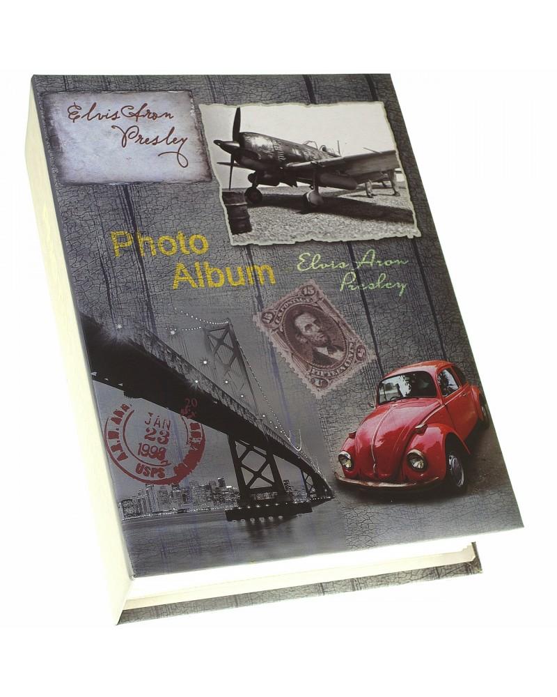 Album kieszeniowy na 300 zdjęć 10x15 stare samochody OLD TIME 1