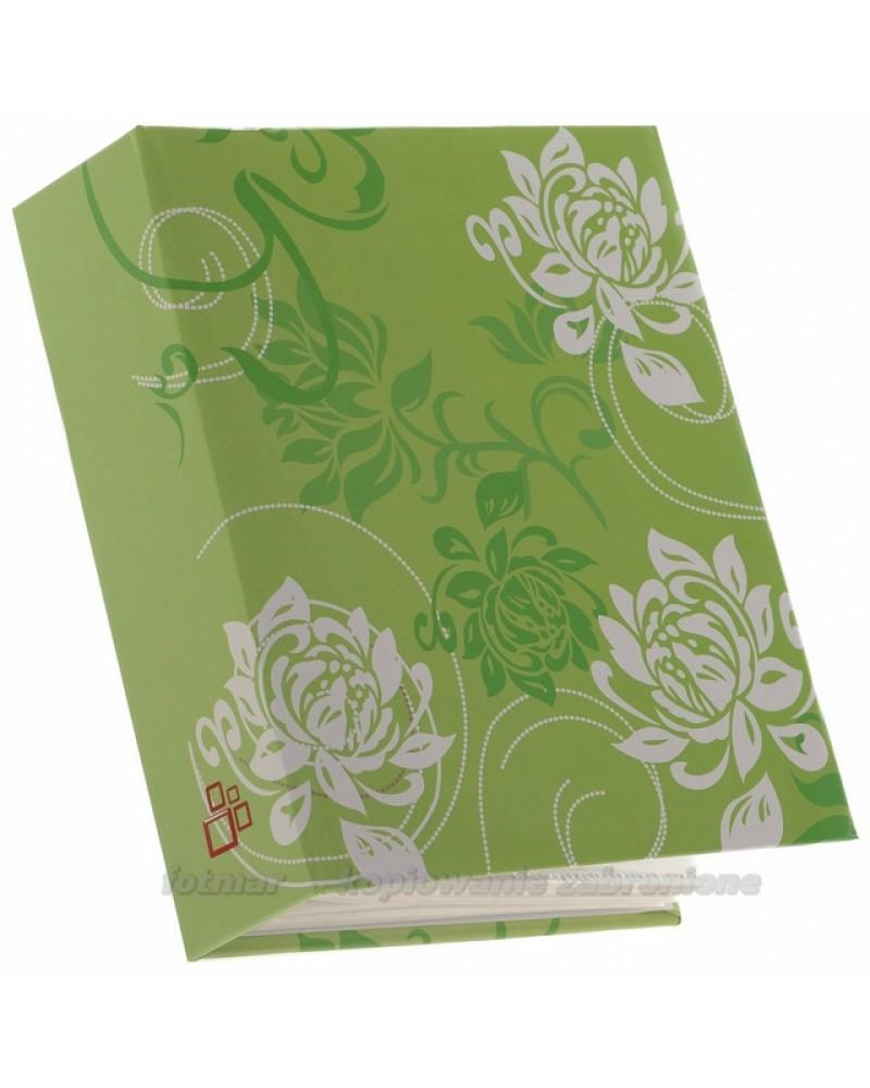 kolorowy album kieszeniowy na 300zdjęć 10x15 Tint zielony